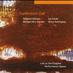 Live at the Outpost Performance Space - Conference Call - CD coverart
