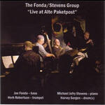Live at Alte Paketpost - The Fonda/Stevens Group - CD coverart